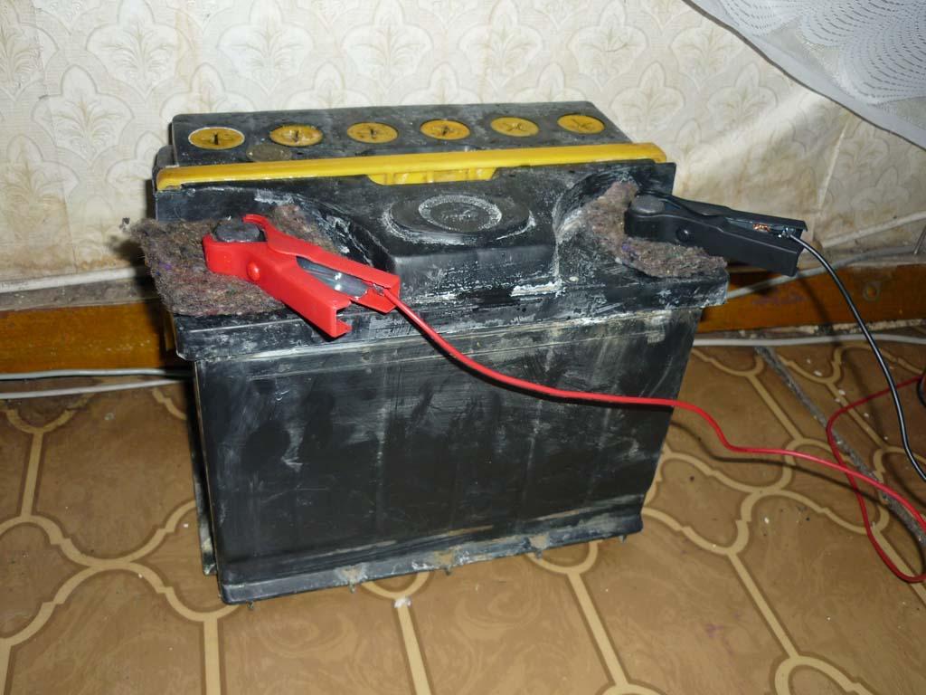 Как сделать старый аккумулятор