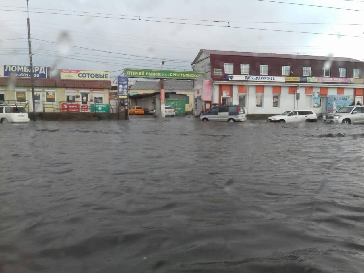 Ещё один район Бурятии оказался подтопленным