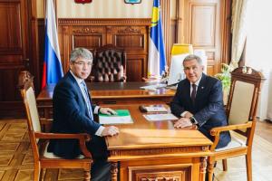 Президент Татарстана главе Бурятии: «У вас пляжи как в Рио-Де-Жанейро»