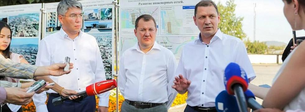 В Улан-Удэ за три года обновят 12,6 км тепломагистралей