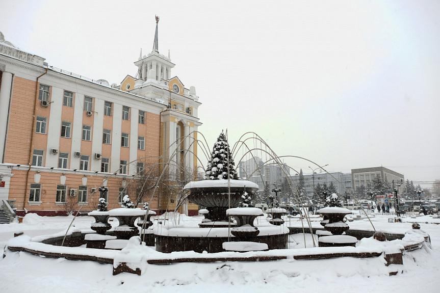 Улан удэ картинки зимой